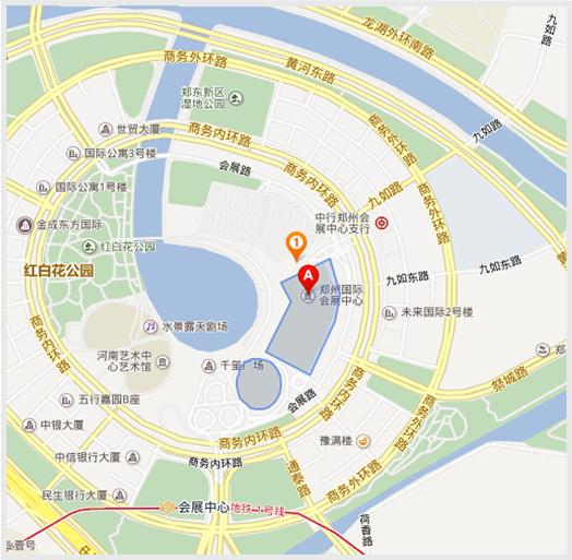 郑州国际会展中心乘车路线:       1)火车站乘26路,206路公交车终点站图片